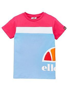 ellesse-younger-girls-xelio-t-shirt-light-blue
