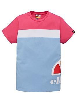 ellesse-ellesse-older-girls-xelio-t-shirt-light-blue