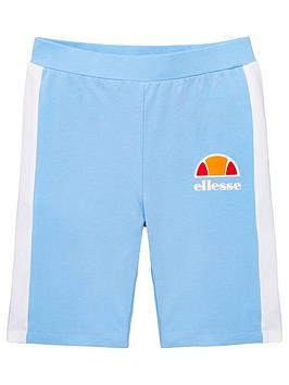 ellesse-older-girls-telivo-cycling-shorts-light-blue