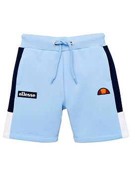 ellesse-younger-boys-normalio-shorts-light-blue