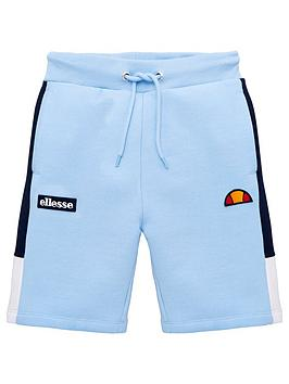 ellesse-older-boys-normalio-shorts-light-blue