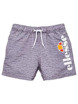 ellesse-younger-boys-bervios-swim-shorts-grey-marl