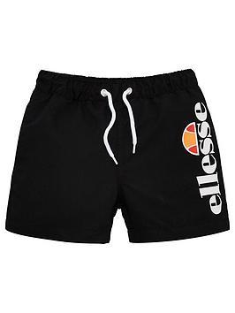 ellesse-younger-boys-bervios-swim-shorts-black