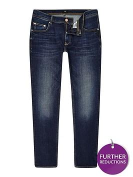 river-island-big-and-tall-dark-blue-sid-skinny-jeans