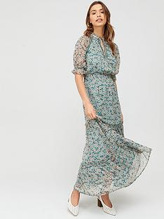 v-by-very-ladder-trim-tiered-maxi-dress-print