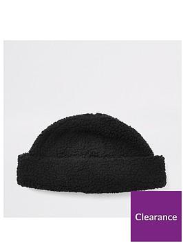 river-island-black-borg-docker-hat