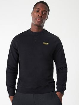 Barbour International Barbour International Essential Sweatshirt - Black Picture