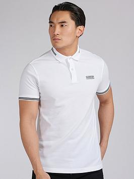 Barbour International Barbour International Essential Tipped Polo Shirt -  ... Picture