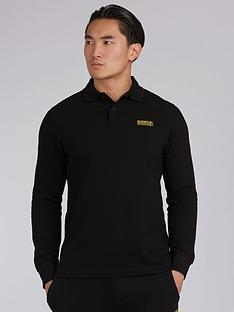 barbour-international-long-sleeve-polo-shirt-black