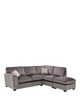 Very Odion Fabric Right Hand Corner Group Standard Back Sofa Picture