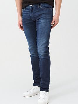 Armani Exchange Armani Exchange J14 Skinny Fit Dark Wash Jeans - Indigo Picture