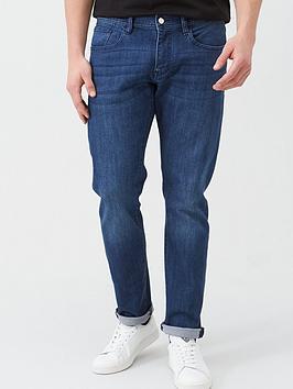 Armani Exchange Armani Exchange J13 Slim Fit Light Wash Jeans - Blue Picture