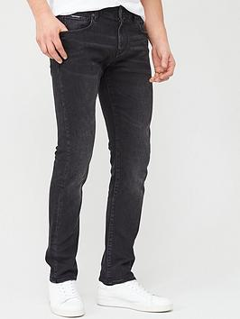 Armani Exchange Armani Exchange J13 Slim Fit Jeans - Washed Black Picture