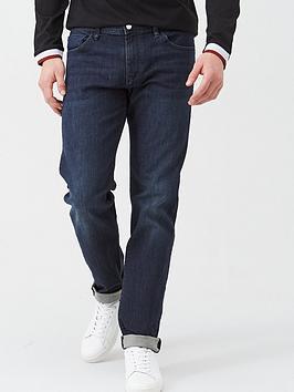Armani Exchange Armani Exchange J16 Straight Fit Dark Wash Jeans - Indigo Picture