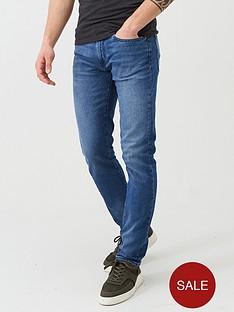 armani-exchange-j13-slim-fit-washed-jeans-blue