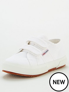 superga-girls-2750-cotj-strap-classic-plimsoll-pumps-white