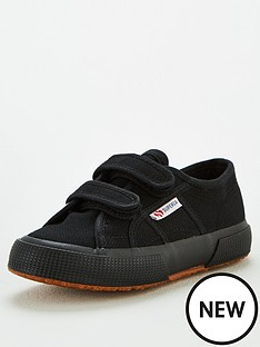 superga-boys-2750-cotj-strap-classic-plimsoll-pumps-black
