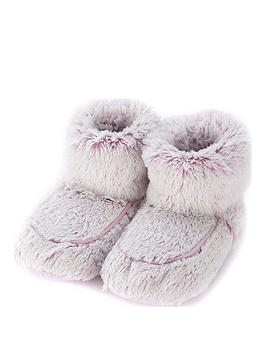 Very Warmies Heatable Pink Marshmallow Boots Picture