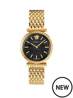 versace-versace-twist-black-sunray-dial-gold-stainless-steel-bracelet-ladies-watch