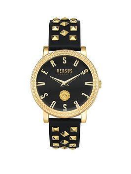 Versus Versace Versus Versace Versus Versace Black And Gold Detail Dial  ... Picture