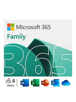 Microsoft   365 Family 12 Month Subscription For 6 People For Pc And Mac