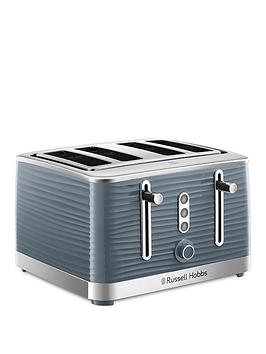Russell Hobbs Russell Hobbs Russell Hobbs Inspire 4-Slice Toaster - Grey Picture