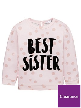 v-by-very-girls-best-sister-pink-polka-dot-sweatshirt