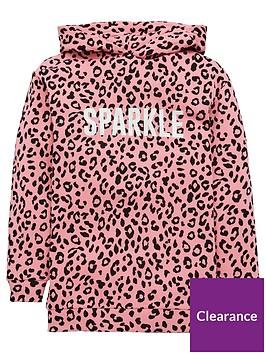 v-by-very-girls-sparkle-animal-longline-hoodie-pink