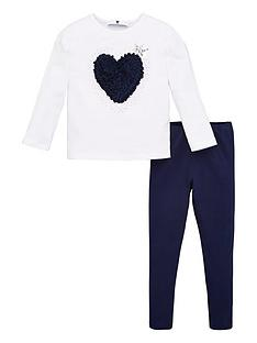v-by-very-girls-2-piece-ruffle-heart-long-sleeve-t-shirt-and-leggings-set-navy