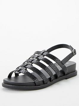 V by Very V By Very Hennie Wide Fit Gladiator Sandals Picture