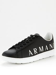 armani-exchange-logo-addiction-leathers-trainers-black