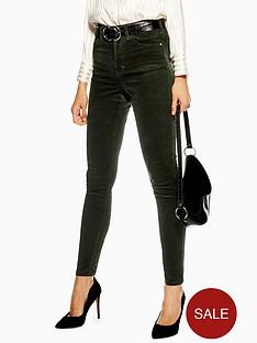 topshop-cord-jamie-jeans-32-green