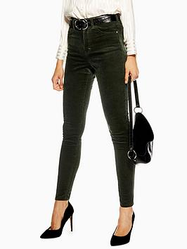 topshop-cord-jamie-jeans-32-green