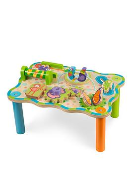 Melissa & Doug Melissa & Doug First Play Jungle Activity Table Picture