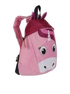 regatta-little-adventurers-roary-unicorn-backpack-pink