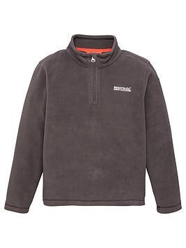 Regatta Regatta Boys Hot Shot Ii 1/4 Zip Fleece - Black Picture
