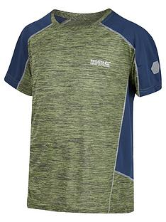 regatta-boys-takson-ii-tech-t-shirt-green