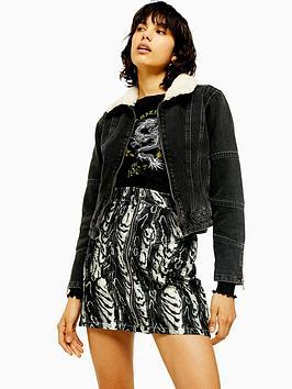 topshop-seam-detail-borg-jacket-black