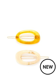 v-by-very-two-pack-oval-hair-slides-tort