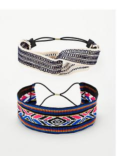 v-by-very-aztec-hair-band-2-pack-multi