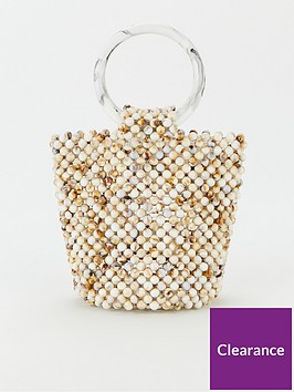v-by-very-juice-beaded-bucket-bag-white