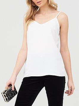 V by Very V By Very Essential Woven Cami - Ivory Picture