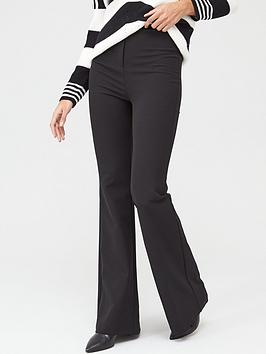 V by Very V By Very High Waisted Fashion Trousers - Black Picture