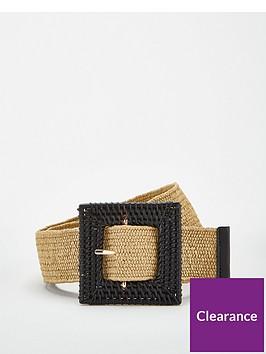 v-by-very-raffia-buckle-belt-natural