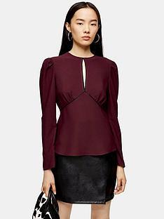 topshop-topshop-plain-austin-blouse-plum