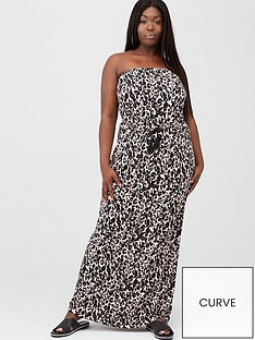 v-by-very-curve-bandeau-jersey-maxi-dress-animal-print