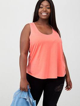 V by Very Curve V By Very Curve Cami Swing Vest - Coral Picture