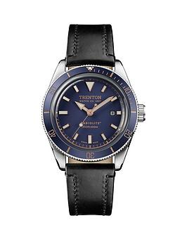 Ingersoll Ingersoll Ingersoll Trenton Limited Edition Swiss Made Blue And  ... Picture