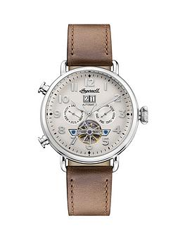 Ingersoll Ingersoll Ingersoll Muse Silver Daydate Skeleton Eye Automatic  ... Picture