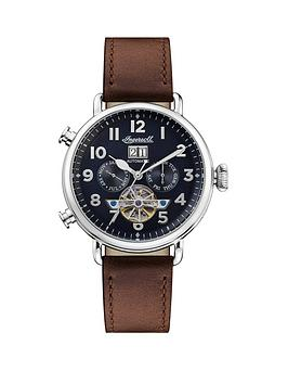 Ingersoll Ingersoll Ingersoll Muse Black And Silver Detail Daydate  ... Picture